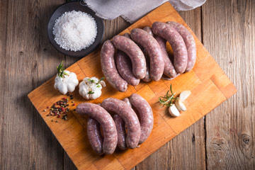 HOUSE-MADE FRESH SAUSAGES