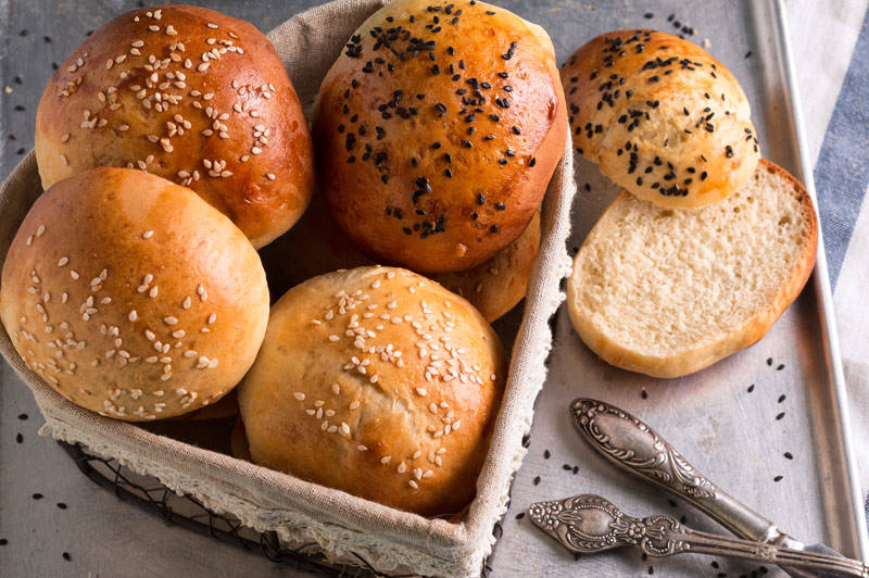 Decorative Dinner Rolls