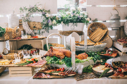 Decorative Buffet Arrangement